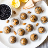 Blueberry Lemon Breakfast Bites