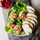 Chicken Salad with Peppadews and Olives