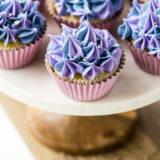 Lemon Olive Oil Cupcakes with Lavender Buttercream