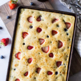 Berry Buttermilk Sheet Pan Pancakes
