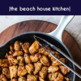 Mexican Spiced Chicken Bites long Pinterest pin