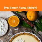 Orange Cream Tart long Pinterest pin