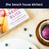 Blueberry Ice Cream long Pinterest pin