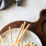 Everything Hummus long Pinterest pin