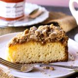 Apricot Preserves Crumb Cake long Pinterest pin