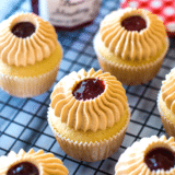 Peanut Butter and Jelly Cupcakes long Pinterest pin
