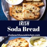 Irish Soda Bread long Pinterest pin