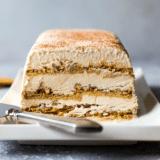 Pecan Cinnamon Roll Ice Box Cake long Pinterest pin