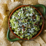 Bacon and Fig Guacamole long Pinterest pin