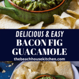 Bacon and Gig Guacamole long Pinterest pin