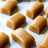 Easy Espresso Caramels long Pinterest pin