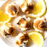 Mini Lemon Meringue Pies long Pinterest pin