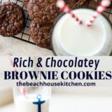 Brownie Cookies long Pinterest pin