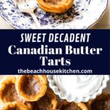 Canadian Butter Tarts long Pinterest pin
