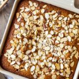 Easy Spiced Honey Snack Cake long Pinterest pin